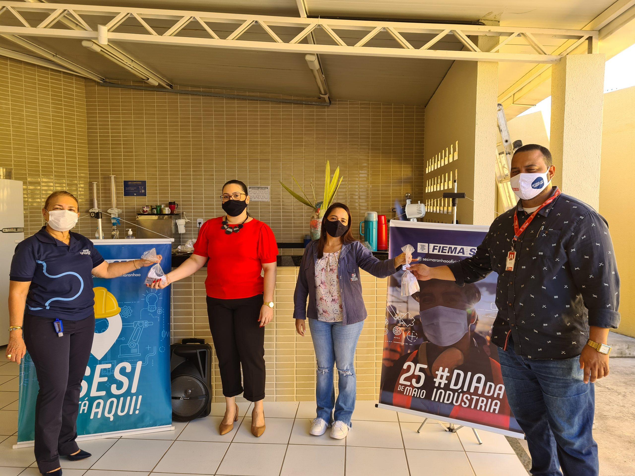 Blitz da Saúde é realizada em comemoração ao Mês da Indústria