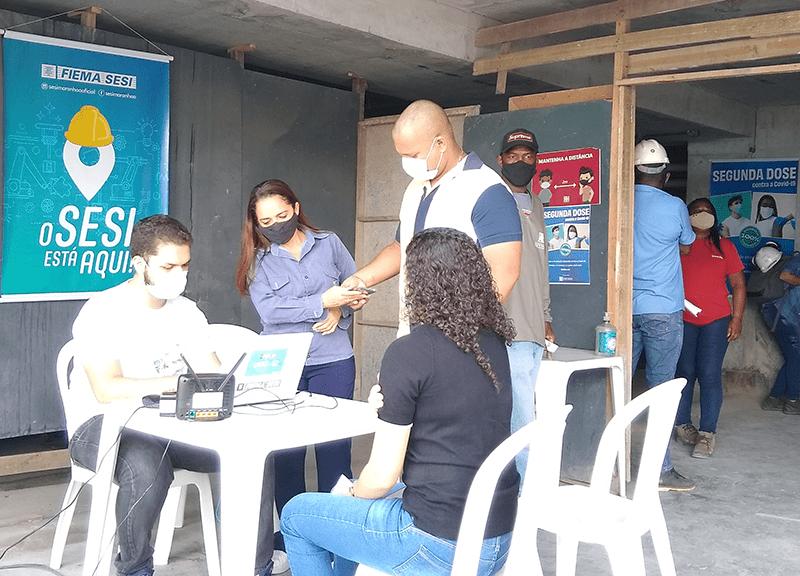 Colaboradores da Escudo recebem 2ª dose da vacina contra Covid-19